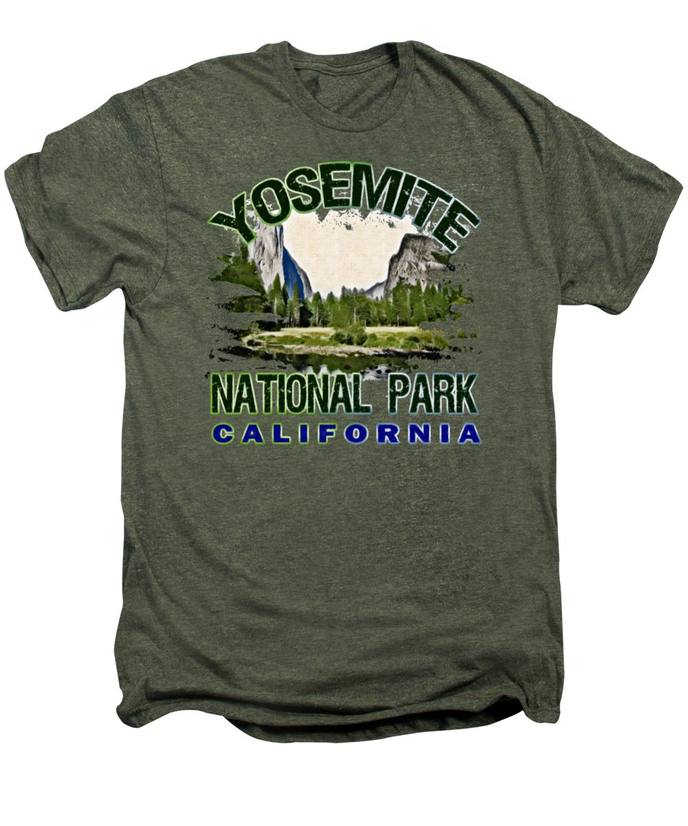 Yosemite National Park Premium T-Shirts