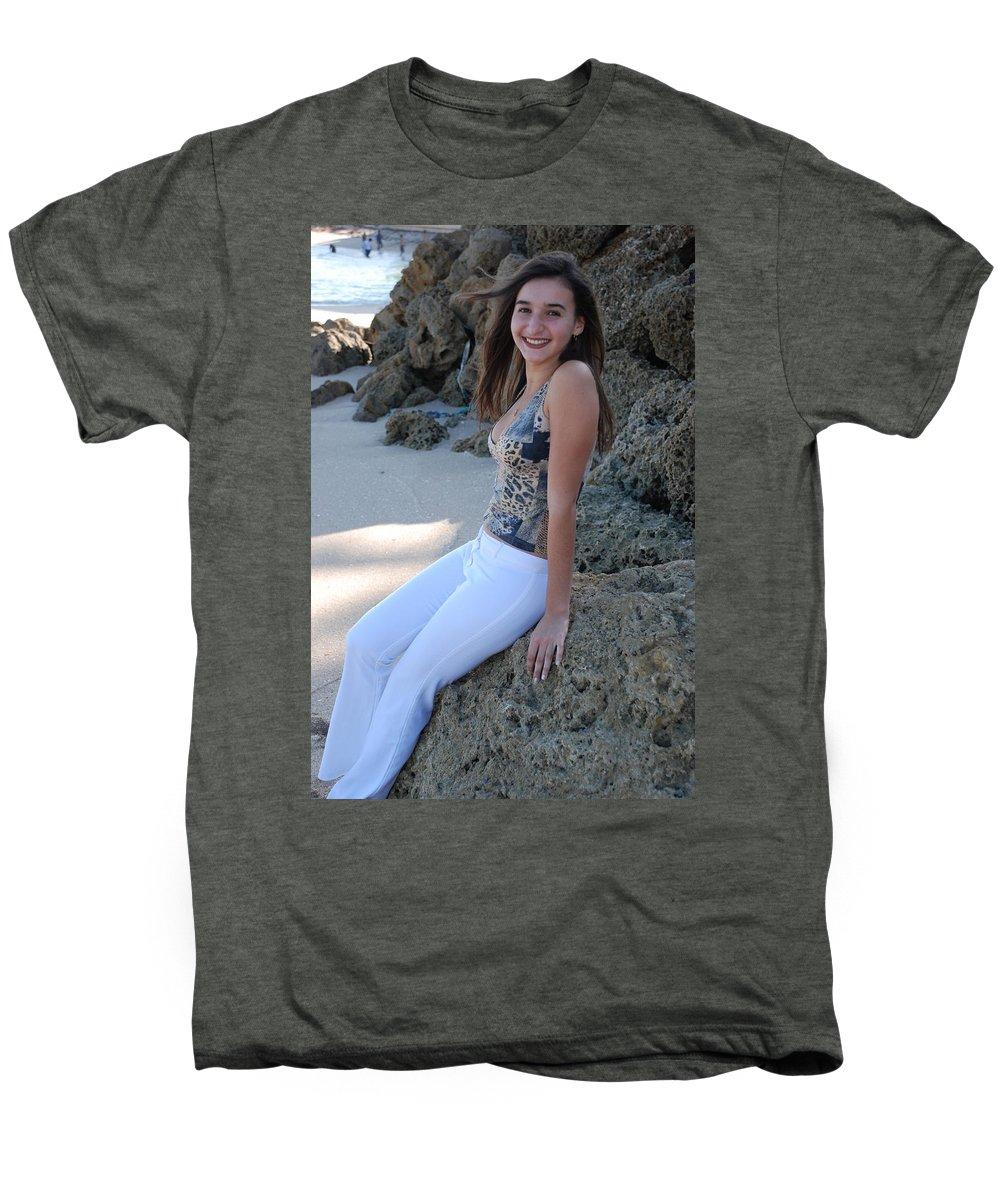Women Men's Premium T-Shirt featuring the photograph Gisele by Rob Hans