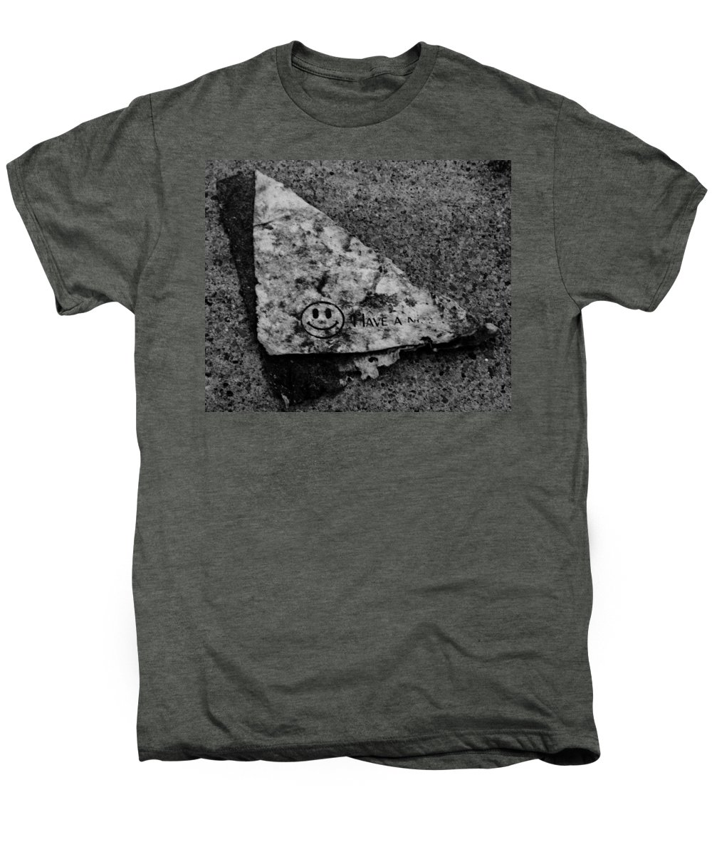 Debris Men's Premium T-Shirt featuring the photograph Have A Nice Day by Angus Hooper Iii