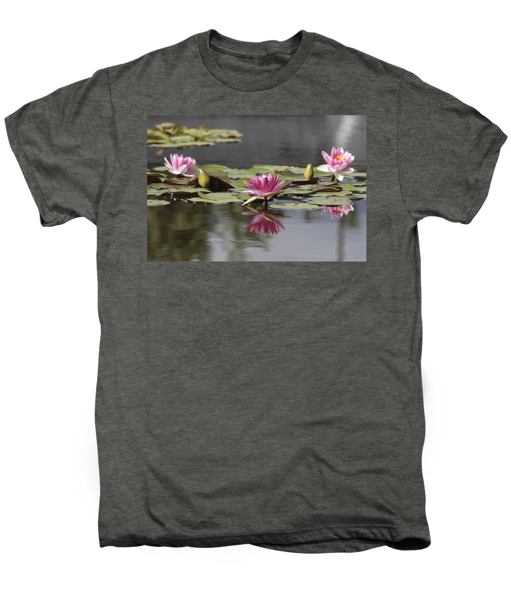 Lily Men's Premium T-Shirt featuring the photograph Water Lily 3 by Phil Crean