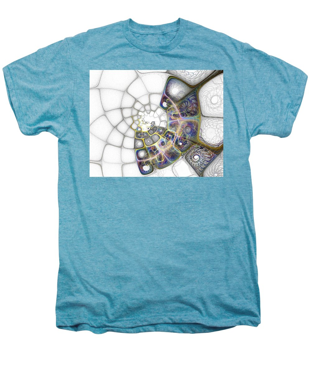 Digital Art Men's Premium T-Shirt featuring the digital art Memories by Amanda Moore