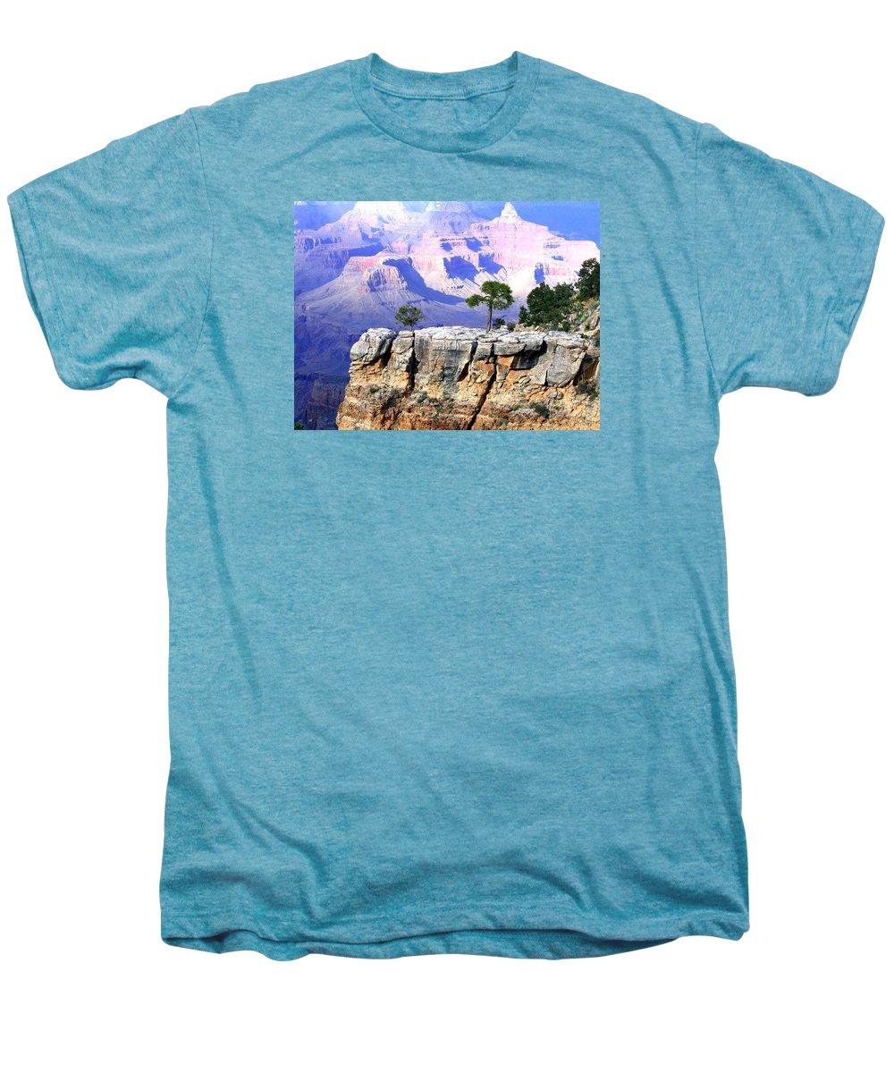 #grandcanyon1vista Men's Premium T-Shirt featuring the photograph Grand Canyon 1 by Will Borden