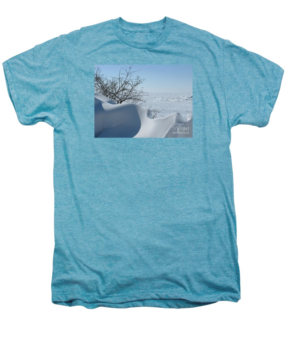Winter Men's Premium T-Shirt featuring the photograph A Gentle Beauty by Ann Horn