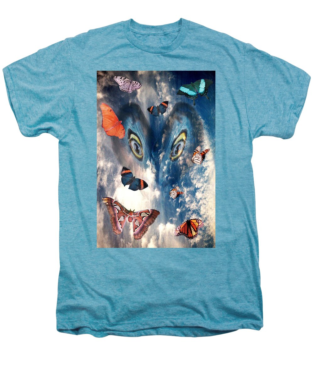 Air Men's Premium T-Shirt featuring the digital art Air by Lisa Yount