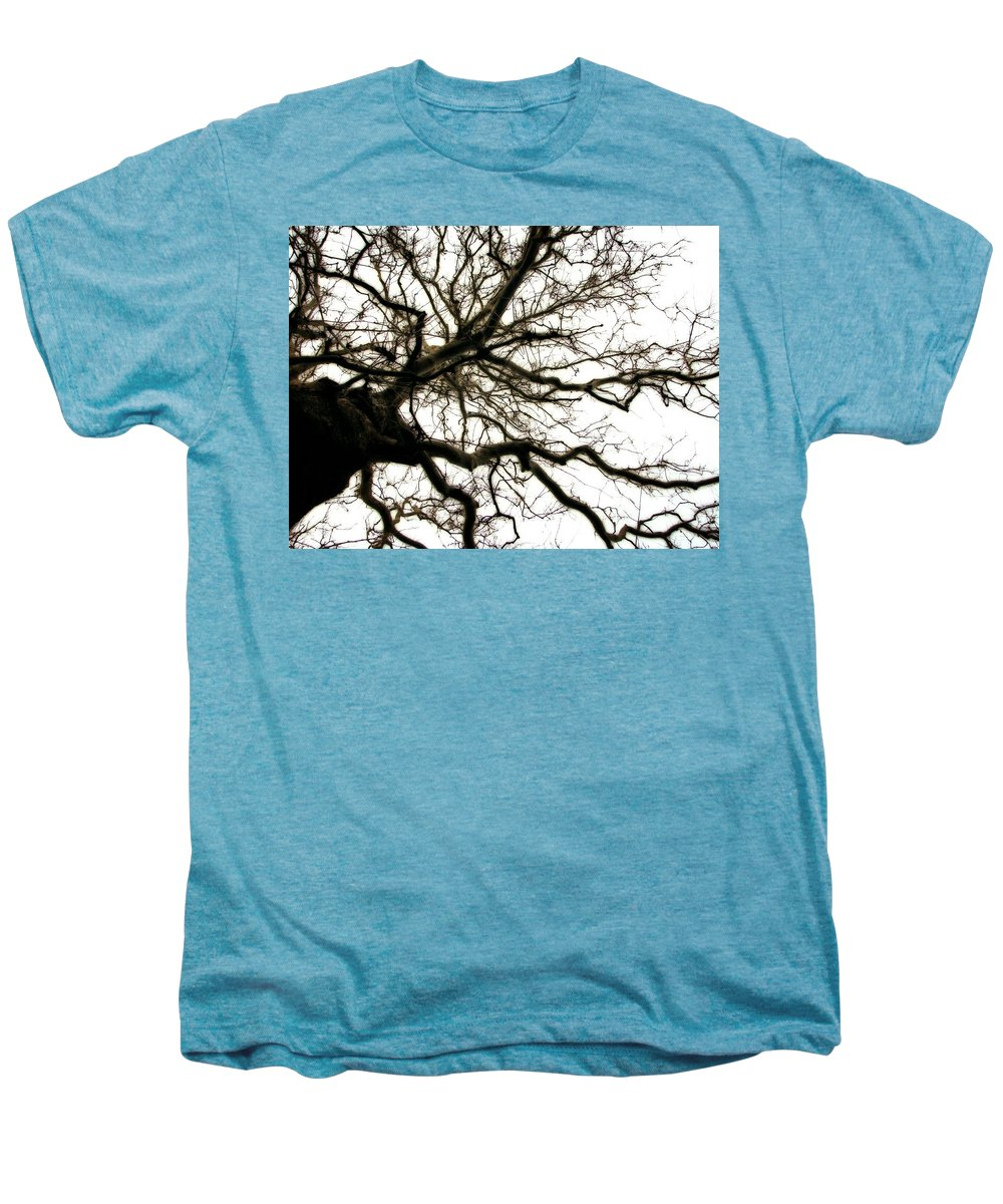 Branches Men's Premium T-Shirt featuring the photograph Branches by Michelle Calkins