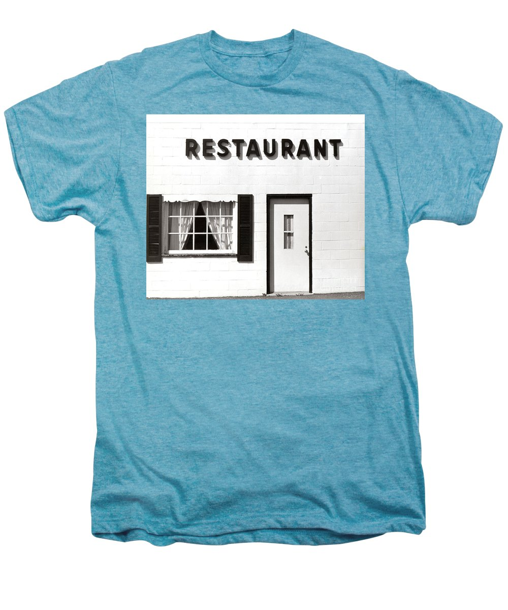 Restaurant Men's Premium T-Shirt featuring the photograph Country Restaurant by Thomas Marchessault