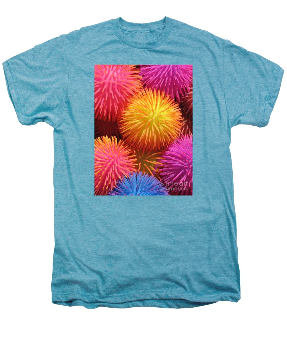 Abstract Men's Premium T-Shirt featuring the photograph Dazzlers by Ann Horn