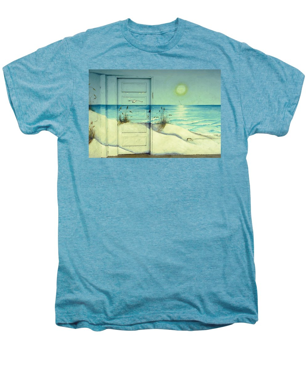 Architecture Men's Premium T-Shirt featuring the photograph Door Of Perception by Skip Hunt