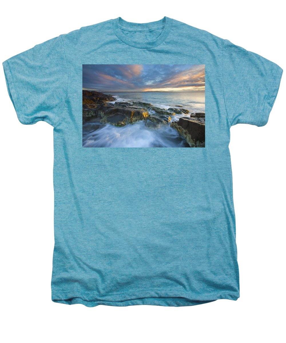 Freycinet Men's Premium T-Shirt featuring the photograph Freycinet Cloud Explosion by Mike Dawson