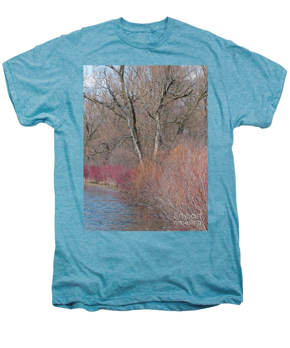 Spring Men's Premium T-Shirt featuring the photograph Hint Of Spring by Ann Horn