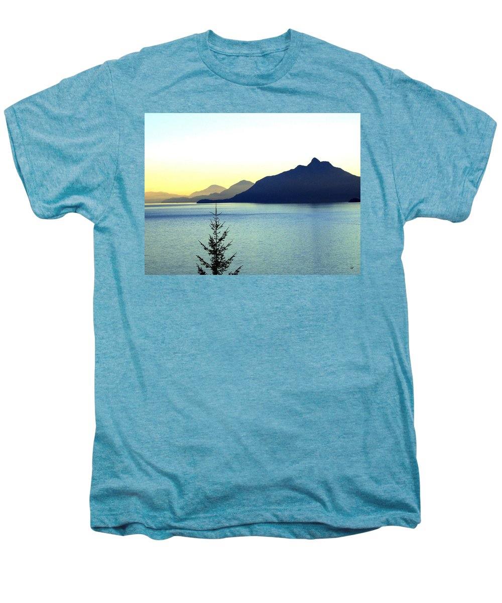 Vancouver Men's Premium T-Shirt featuring the photograph Magnificent Howe Sound by Will Borden