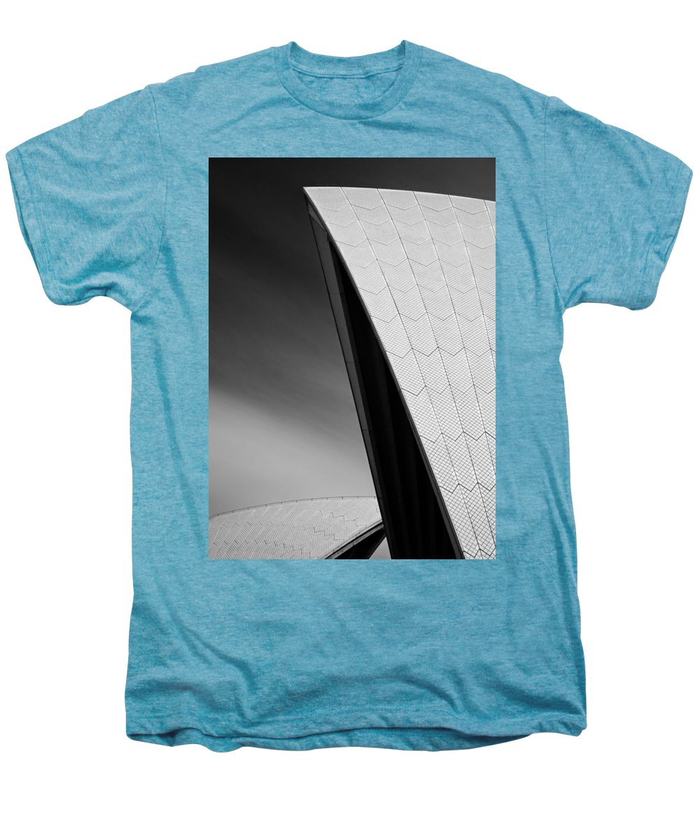 Sydney Opera House Men's Premium T-Shirt featuring the photograph Opera House by Dave Bowman