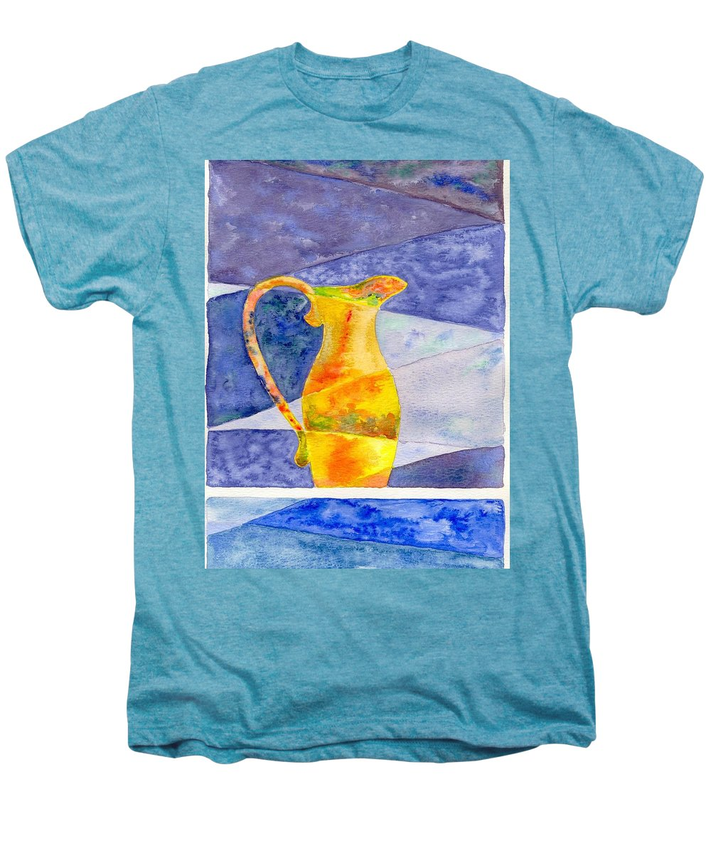 Still Life Men's Premium T-Shirt featuring the painting Pitcher 1 by Micah Guenther
