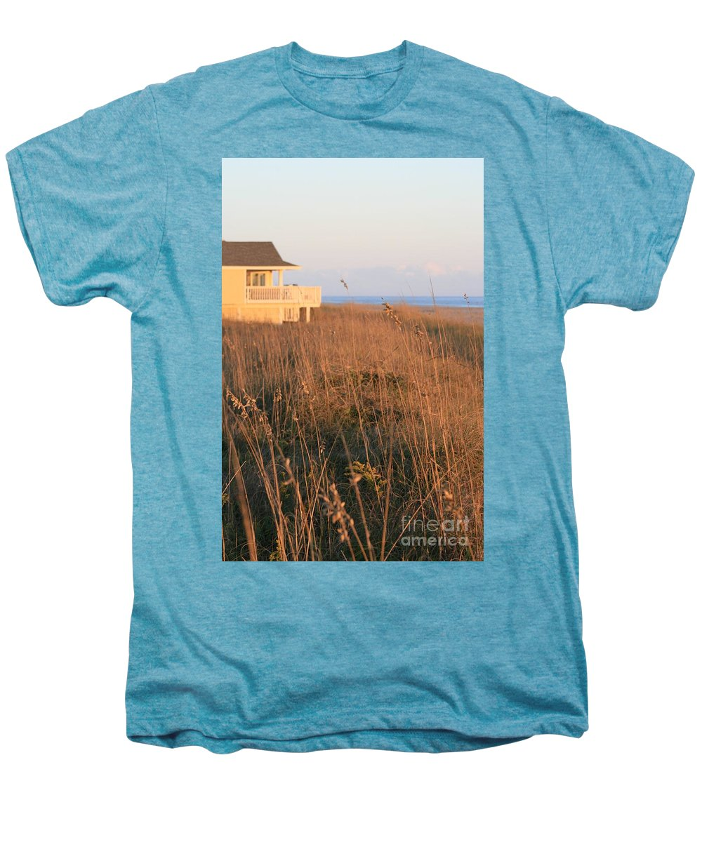 Relaxation Men's Premium T-Shirt featuring the photograph Relaxation by Nadine Rippelmeyer