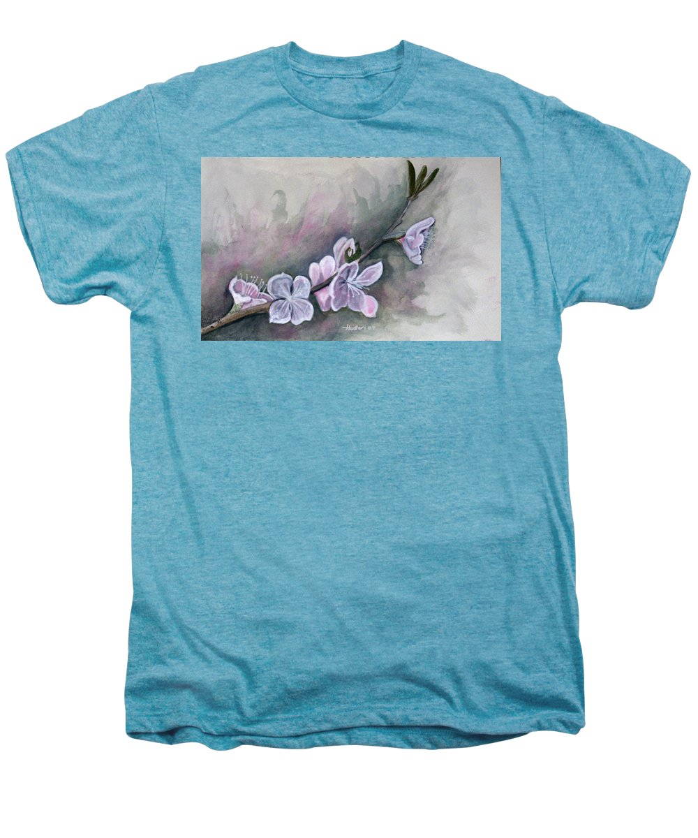 Rick Huotari Men's Premium T-Shirt featuring the painting Spring Splendor by Rick Huotari