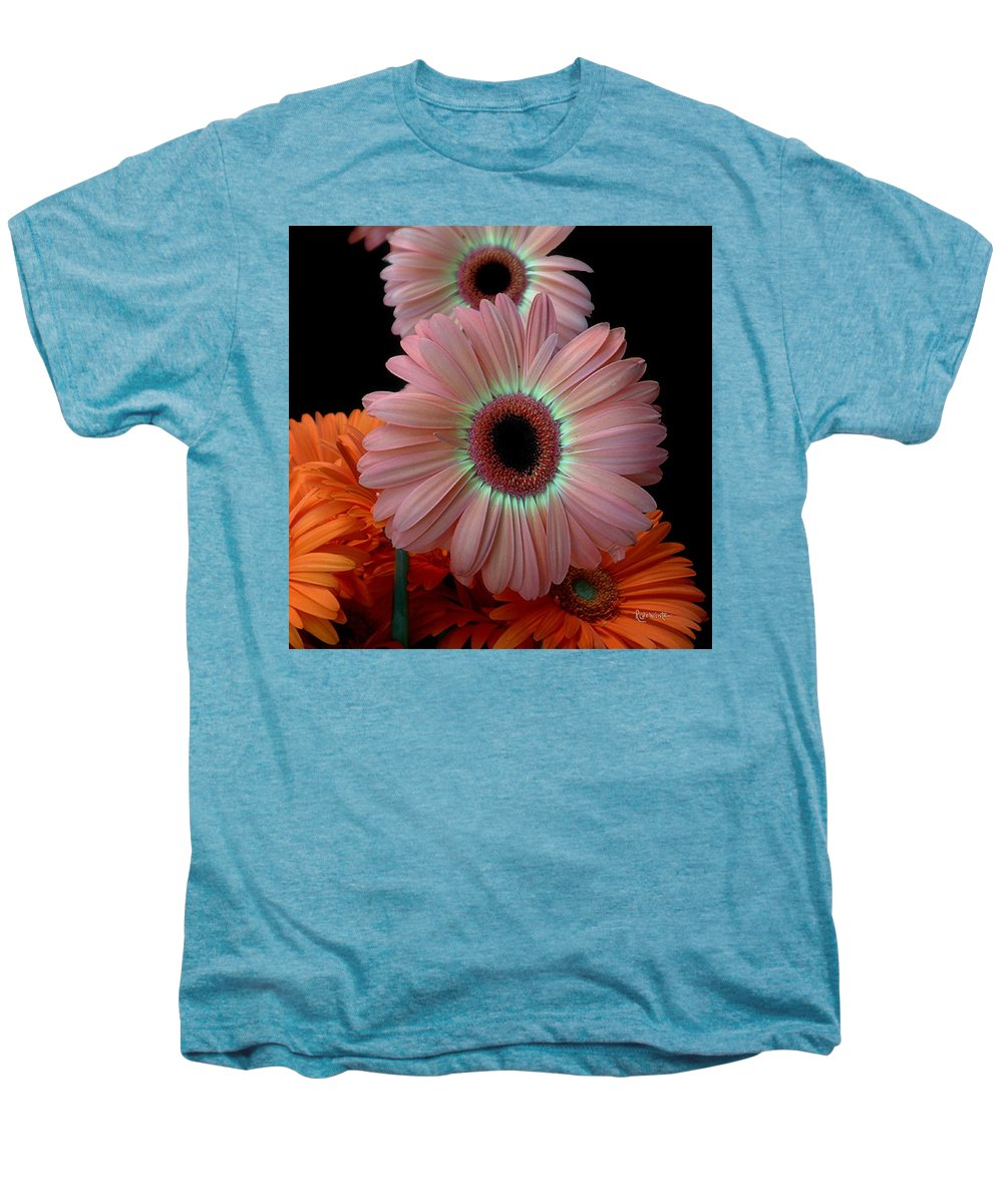 Gerberas Men's Premium T-Shirt featuring the photograph Third Place by RC deWinter