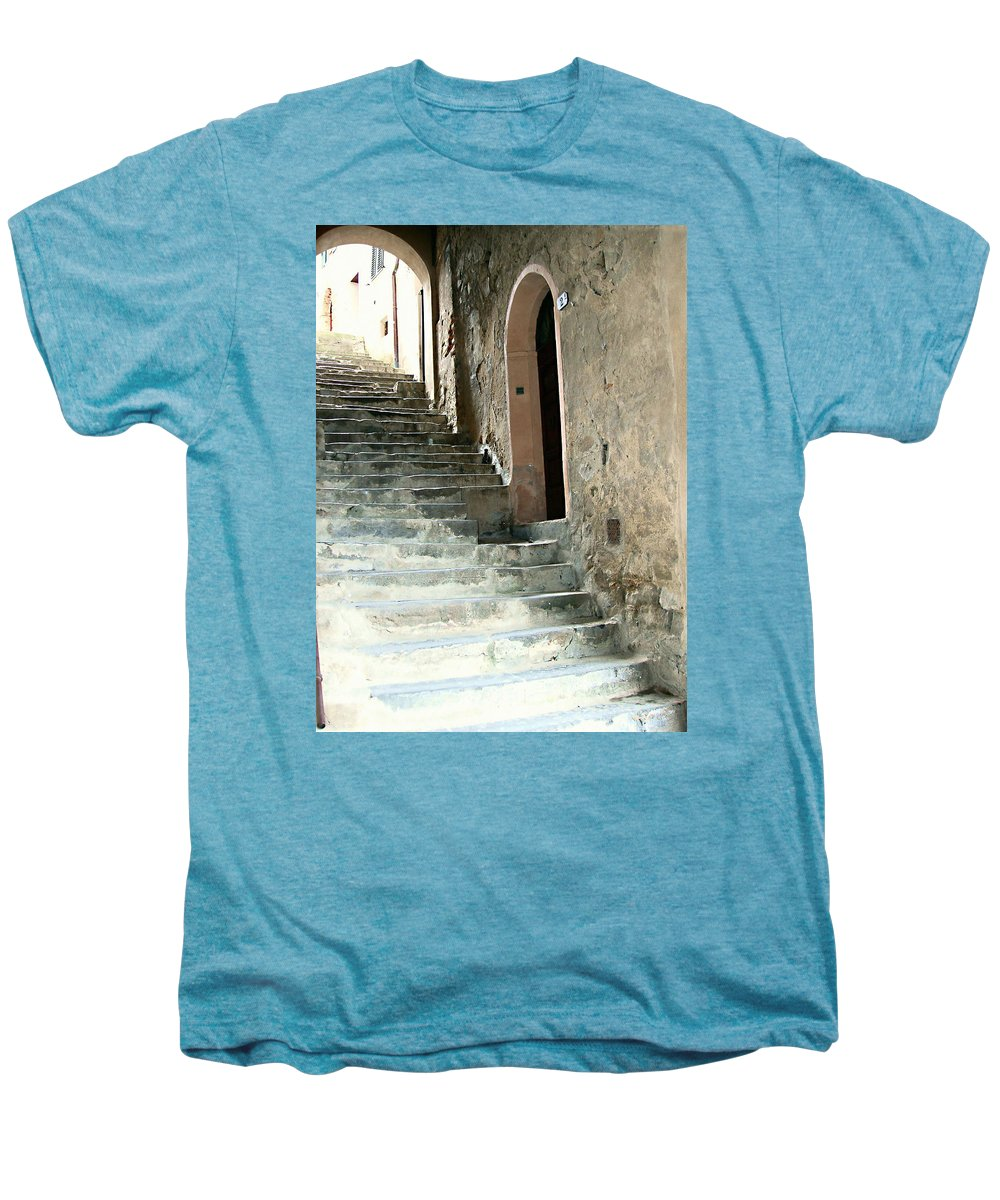 Time-worn Passage Men's Premium T-Shirt featuring the photograph Time-worn Passage by Ellen Henneke