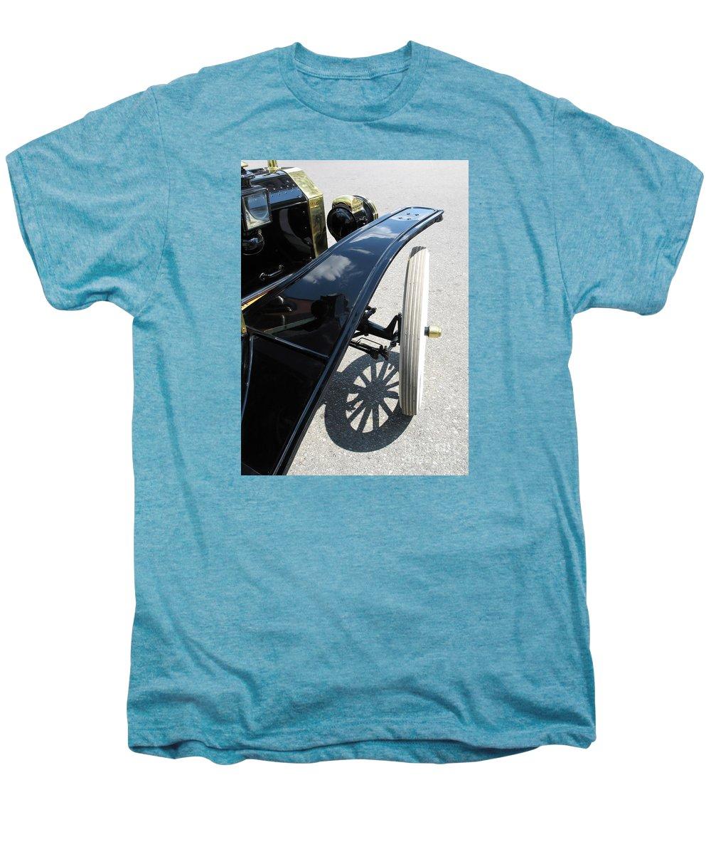Model T Men's Premium T-Shirt featuring the photograph Vintage Model T by Ann Horn