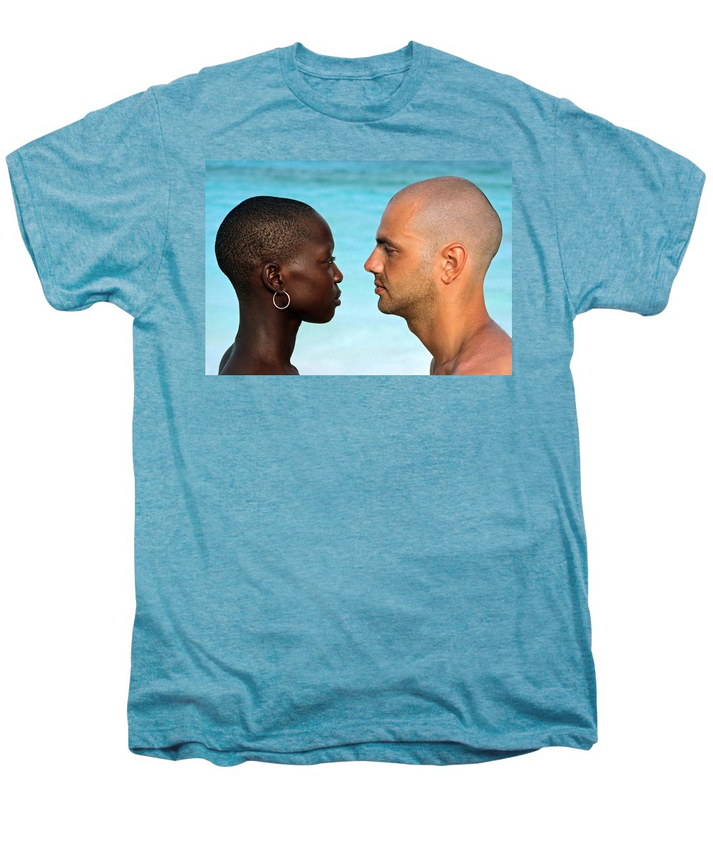 Man Men's Premium T-Shirt featuring the photograph Yin Yang by Skip Hunt