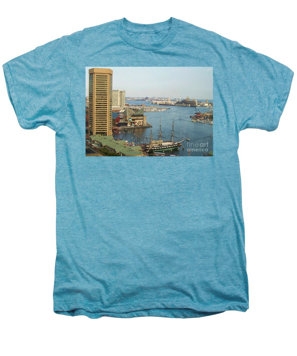 Baltimore Men's Premium T-Shirt featuring the photograph Baltimore by Debbi Granruth