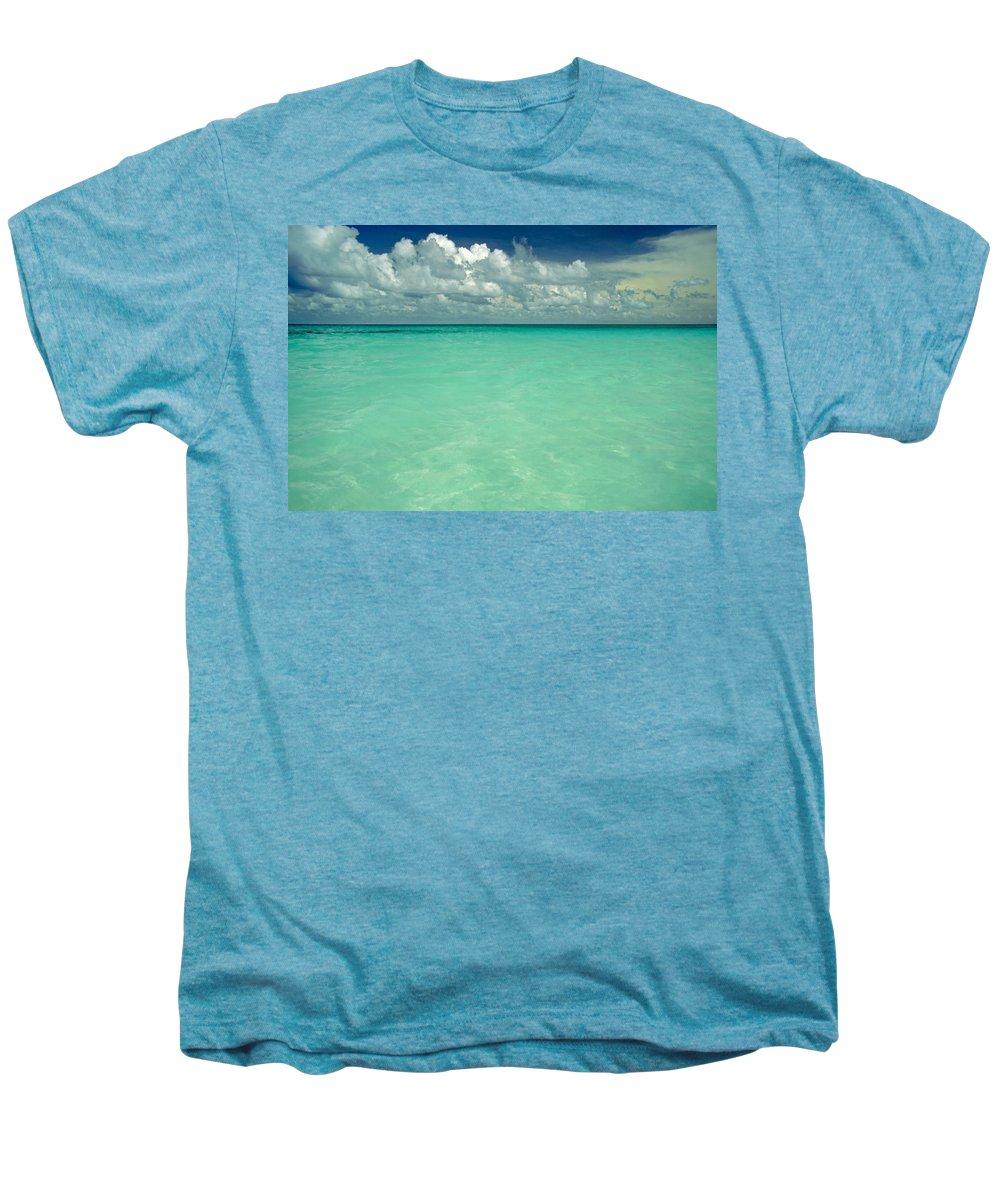 Belize Men's Premium T-Shirt featuring the photograph Heaven by Skip Hunt