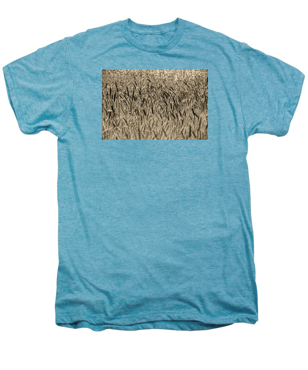 Men's Premium T-Shirt featuring the photograph Harvest Time by Deb Cohen