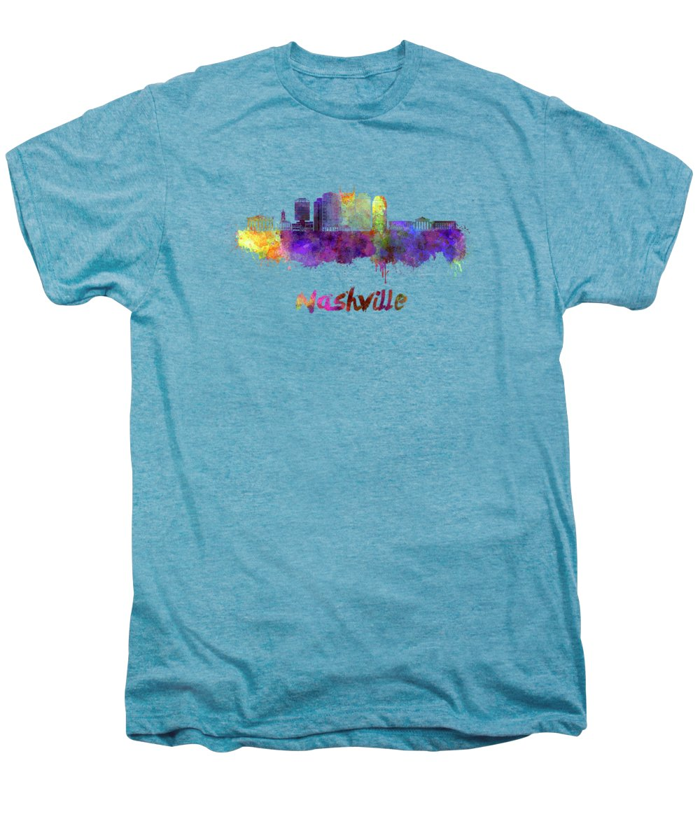 Nashville Skyline Premium T-Shirts