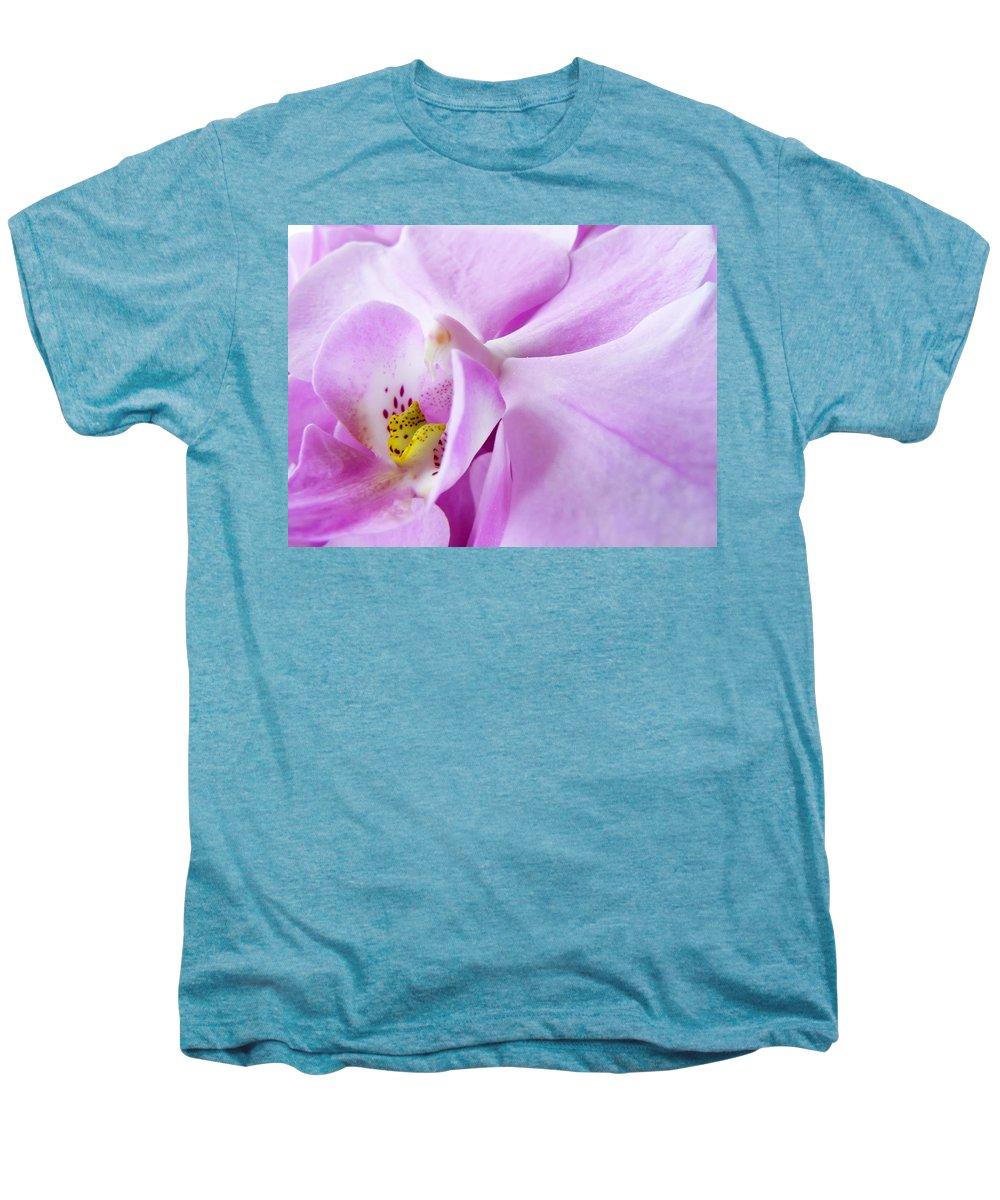 Orchid Men's Premium T-Shirt featuring the photograph Orchid by Daniel Csoka