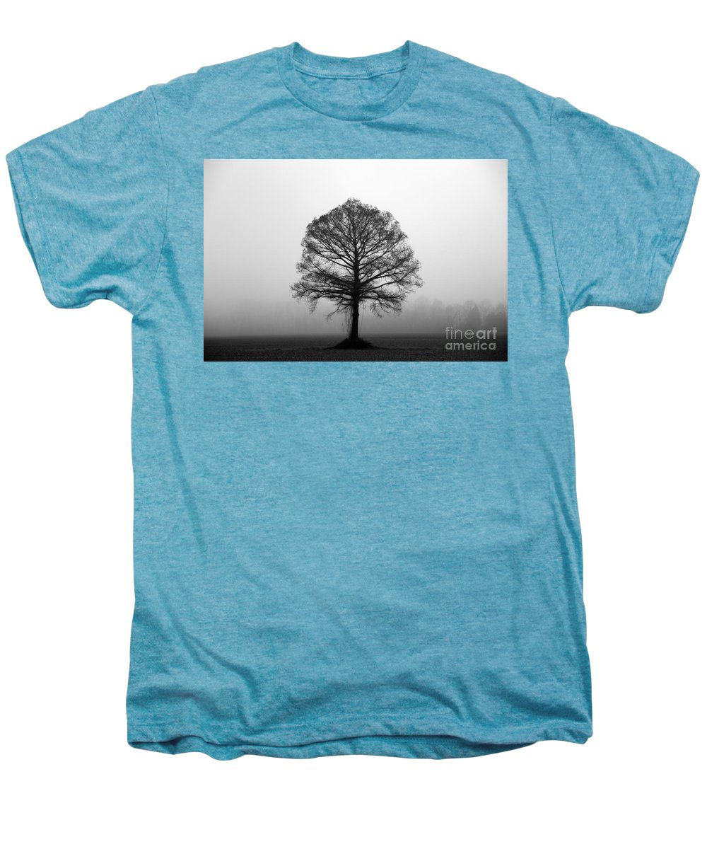 Tree Men's Premium T-Shirt featuring the photograph The Tree by Amanda Barcon