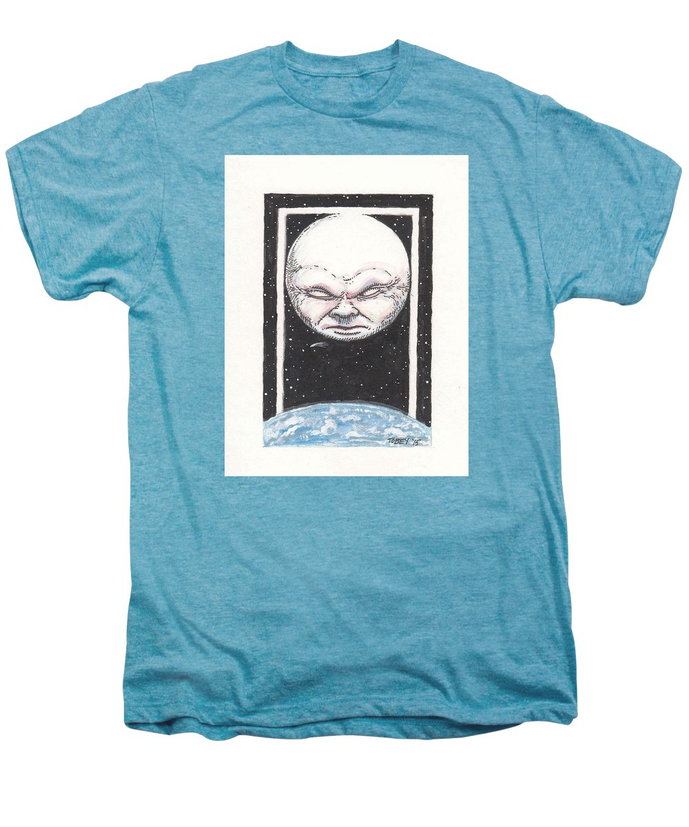 Furniture Men's Premium T-Shirt featuring the drawing Untitled by Tobey Anderson