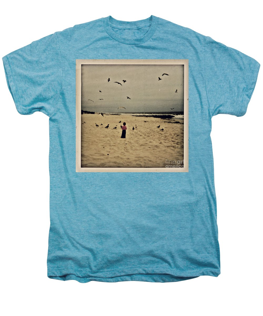 Ocean Men's Premium T-Shirt featuring the photograph When Promises Were For Keeps by Dana DiPasquale