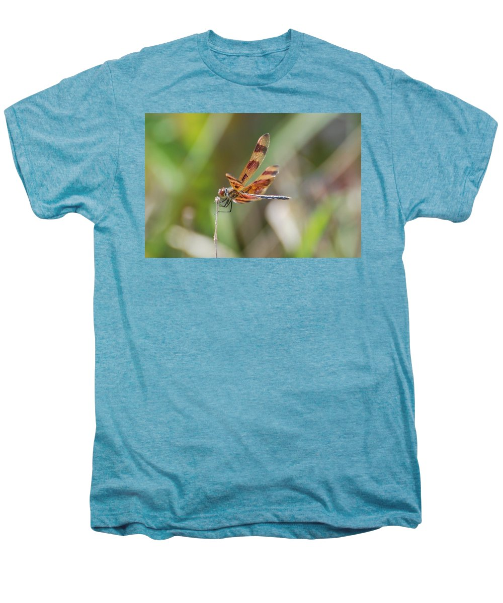 Nature Men's Premium T-Shirt featuring the photograph Dragon Fly by Rob Hans