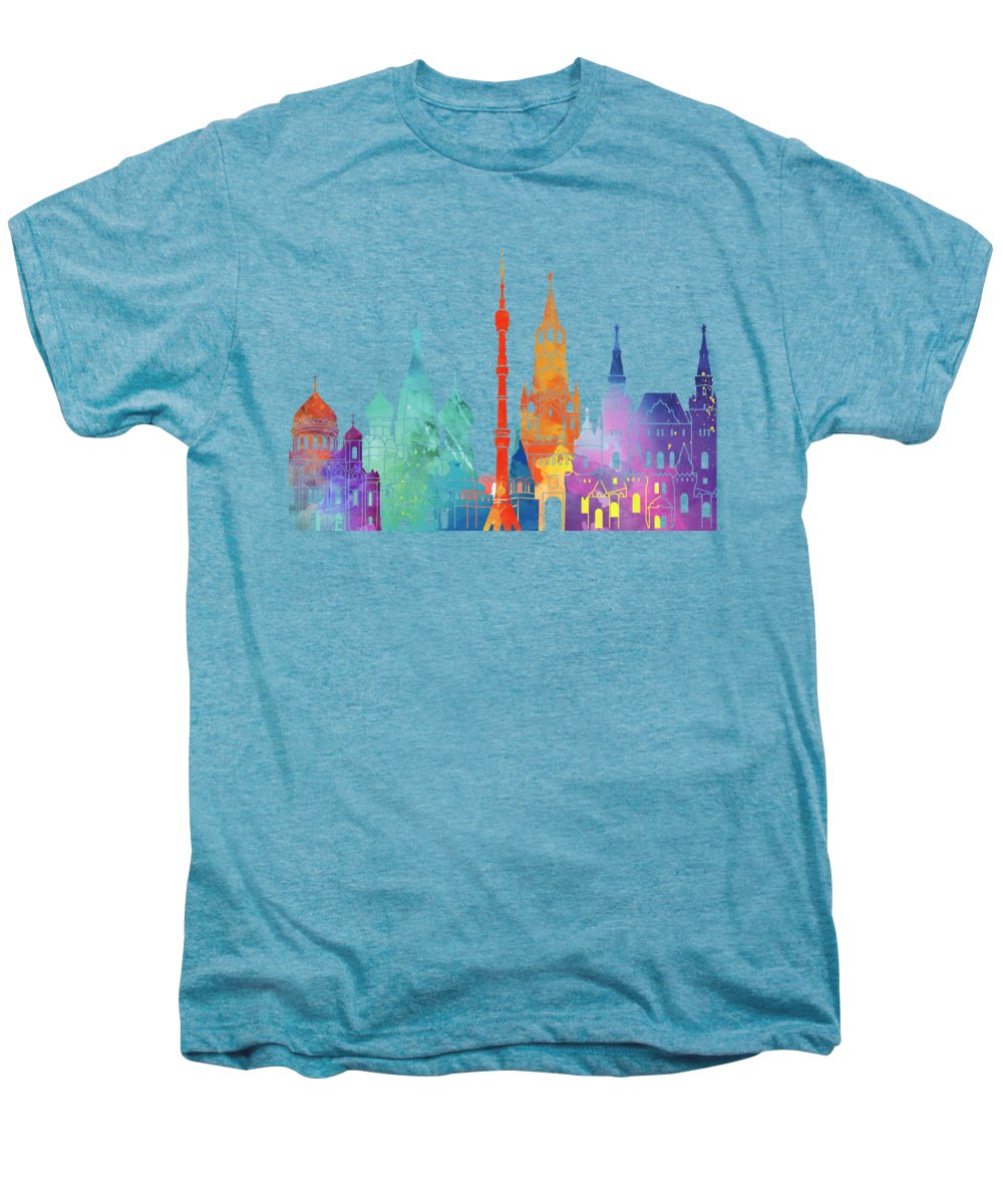 Moscow Skyline Premium T-Shirts