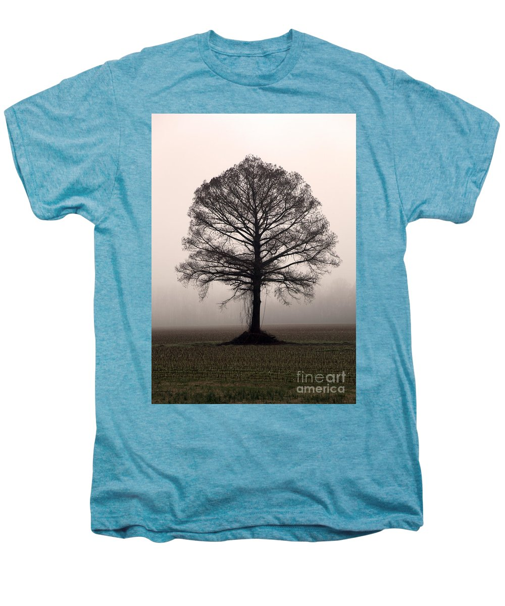 Trees Men's Premium T-Shirt featuring the photograph The Tree by Amanda Barcon