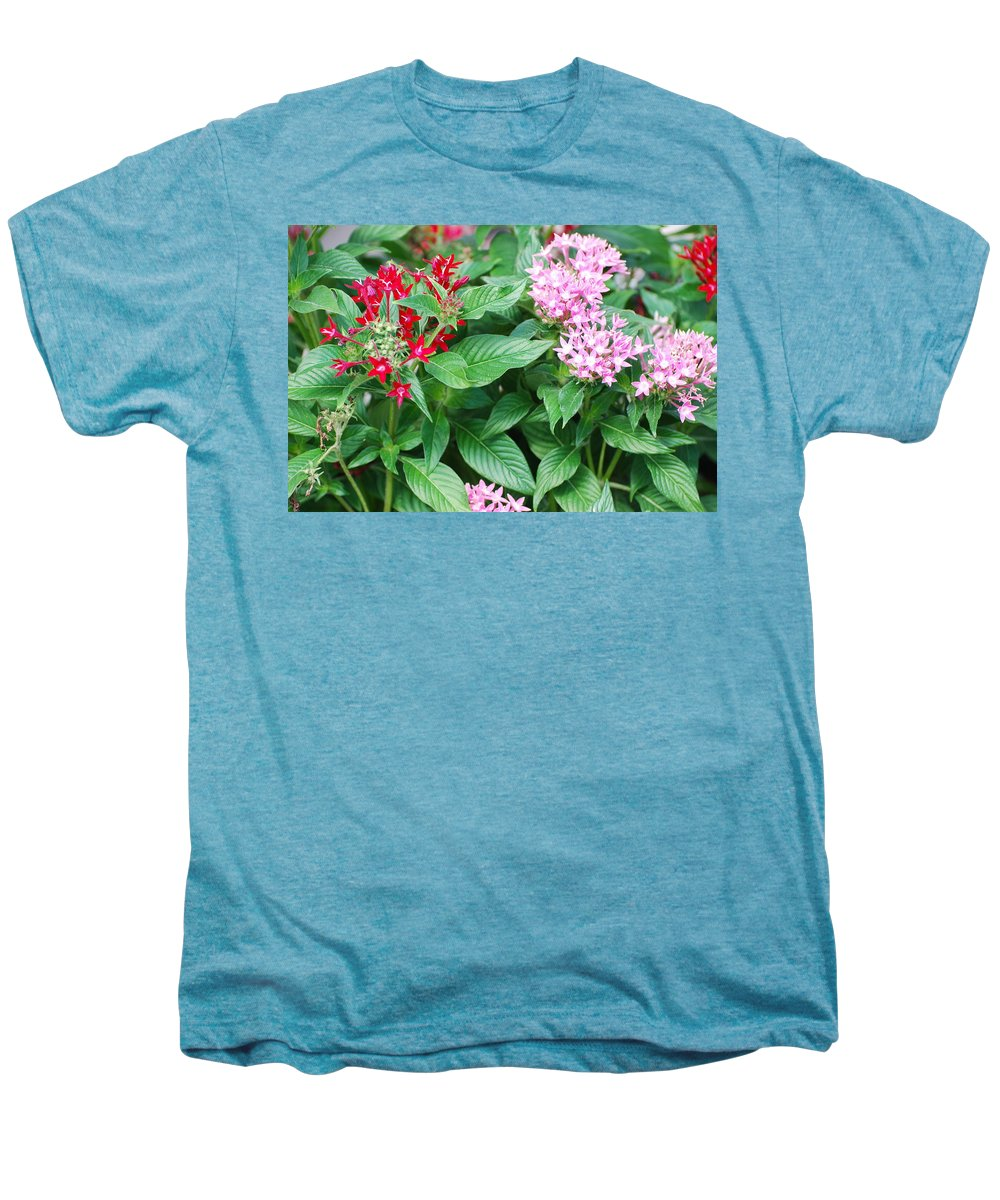 Flowers Men's Premium T-Shirt featuring the photograph Flowers by Rob Hans
