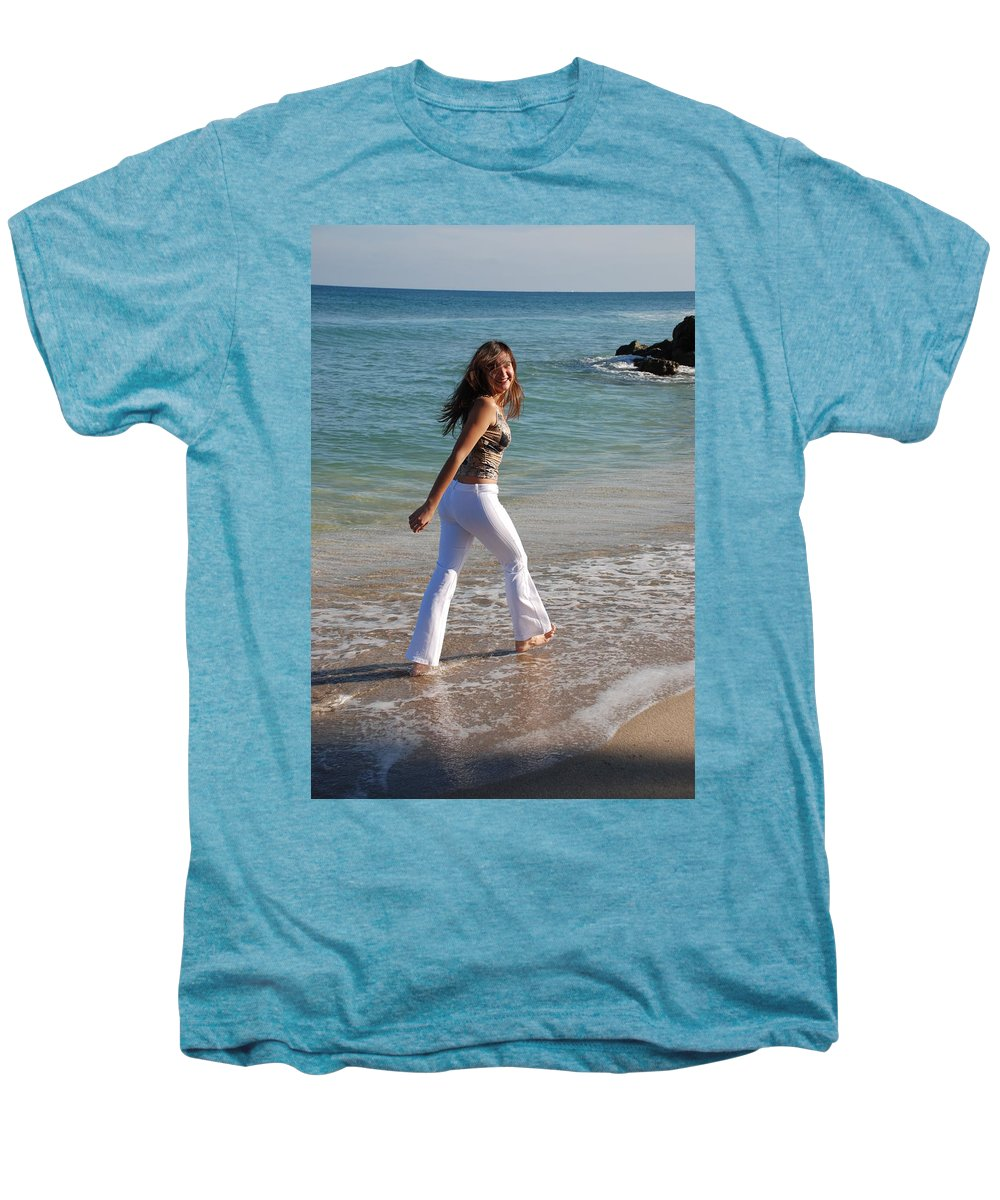 Women Men's Premium T-Shirt featuring the photograph Gisele by Rob Hans