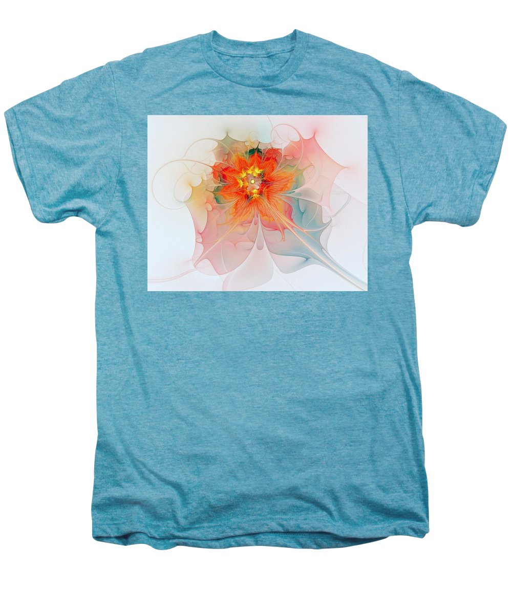 Digital Art Men's Premium T-Shirt featuring the digital art A Touch Of Spring by Amanda Moore