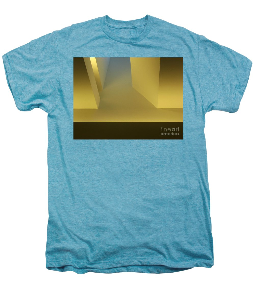 Yellow Men's Premium T-Shirt featuring the photograph Above Series 4.0 by Dana DiPasquale