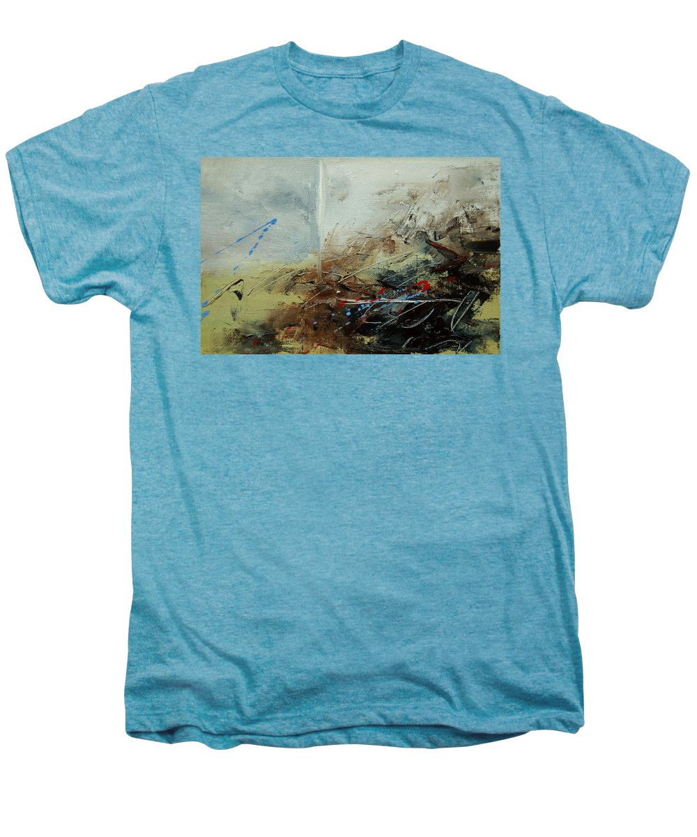 Abstract Men's Premium T-Shirt featuring the print Abstract 070408 by Pol Ledent