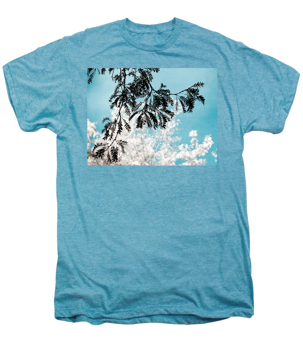 Tree Men's Premium T-Shirt featuring the photograph Abstract Locust by Marilyn Hunt