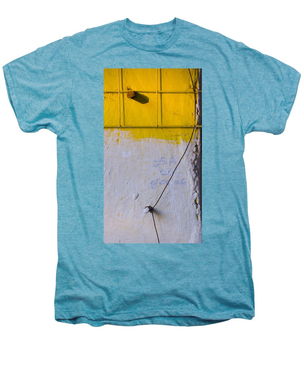 Abstract Men's Premium T-Shirt featuring the photograph Amarillo by Skip Hunt
