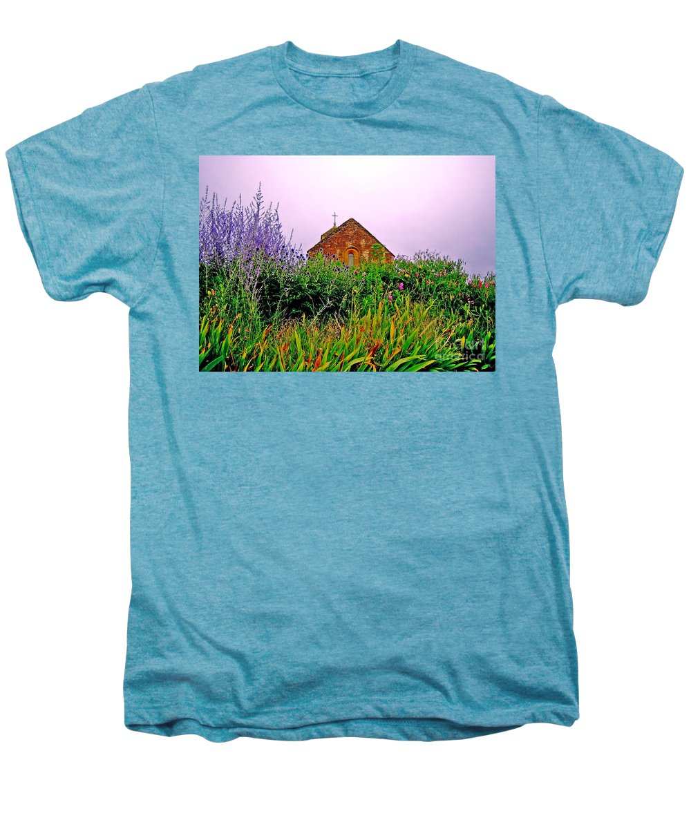 Chapel Men's Premium T-Shirt featuring the photograph Ameugny 3 by Jeff Barrett