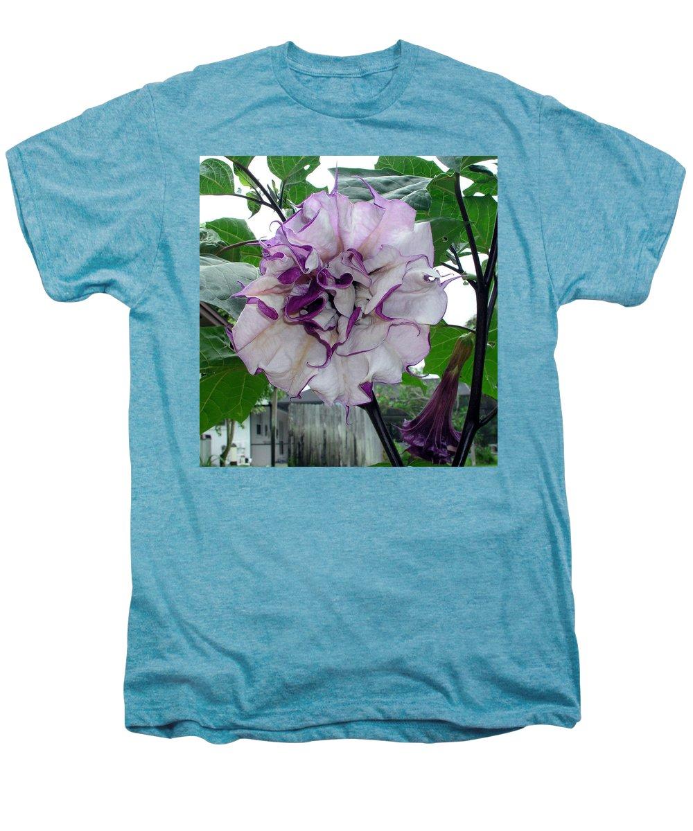 Angel Men's Premium T-Shirt featuring the photograph Angel by Allan Hughes