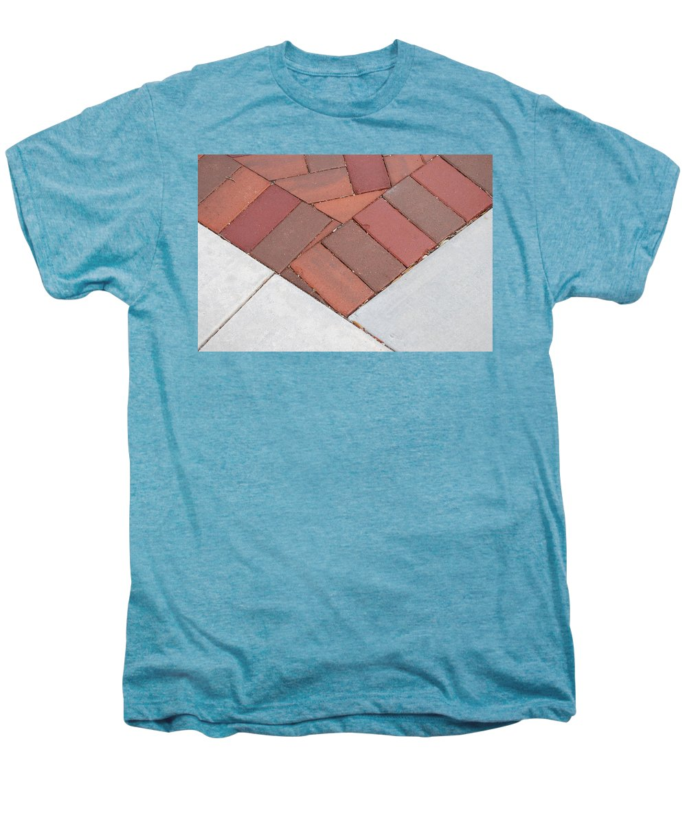 Bricks Men's Premium T-Shirt featuring the photograph Angles by Rob Hans