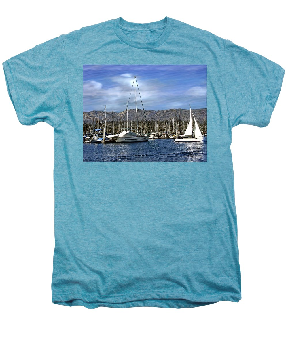 Ocean Men's Premium T-Shirt featuring the photograph Another Sunny Day by Kurt Van Wagner
