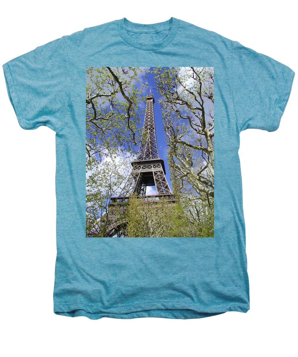 Paris Men's Premium T-Shirt featuring the photograph April In Paris by Tom Reynen
