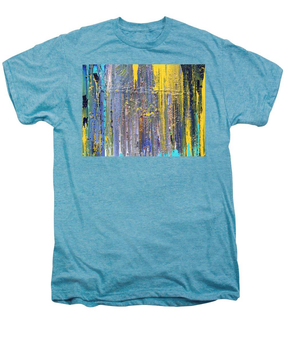 Fusionart Men's Premium T-Shirt featuring the painting Arachnid by Ralph White