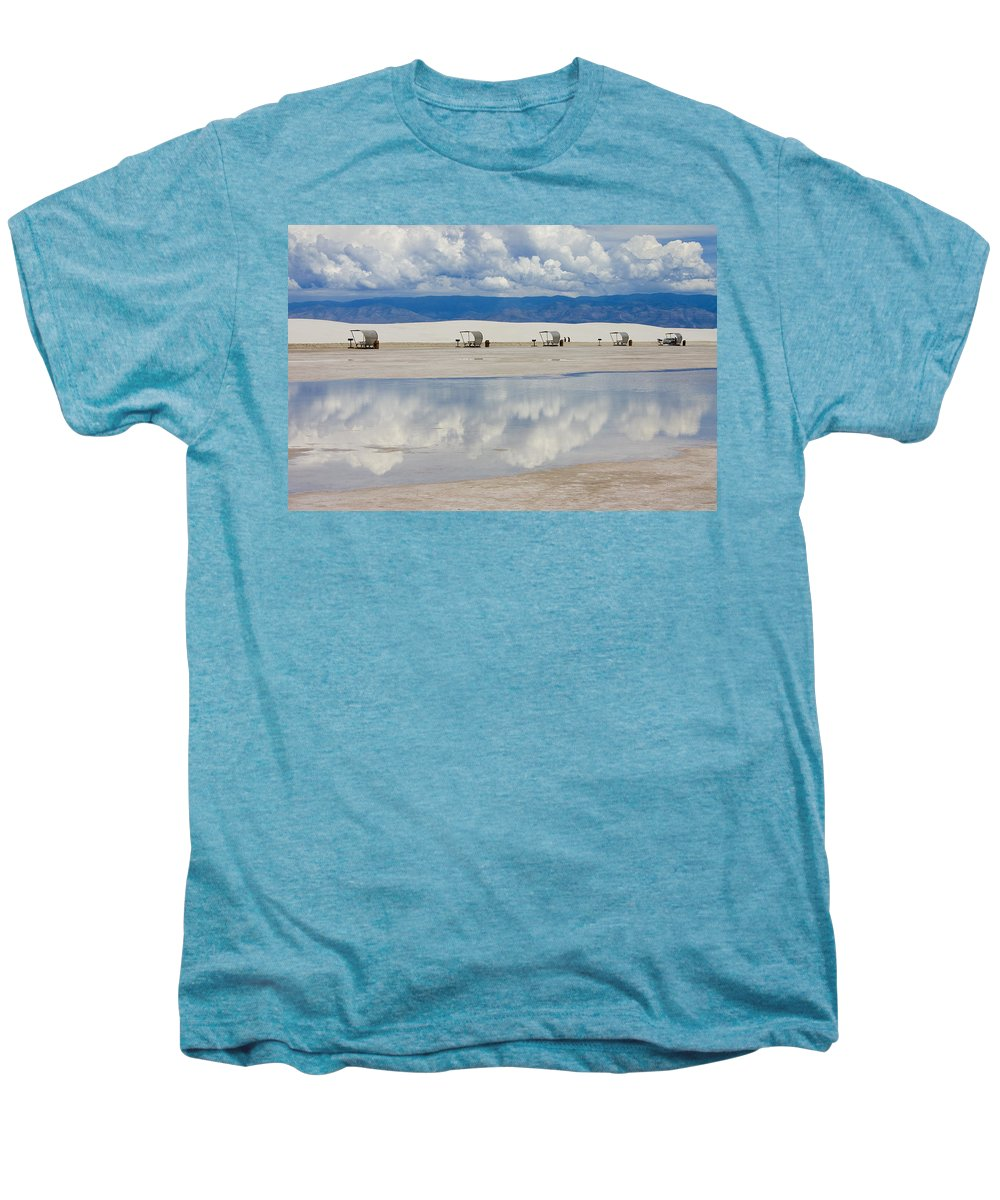 New Mexico Men's Premium T-Shirt featuring the photograph Armageddon Picnic by Skip Hunt