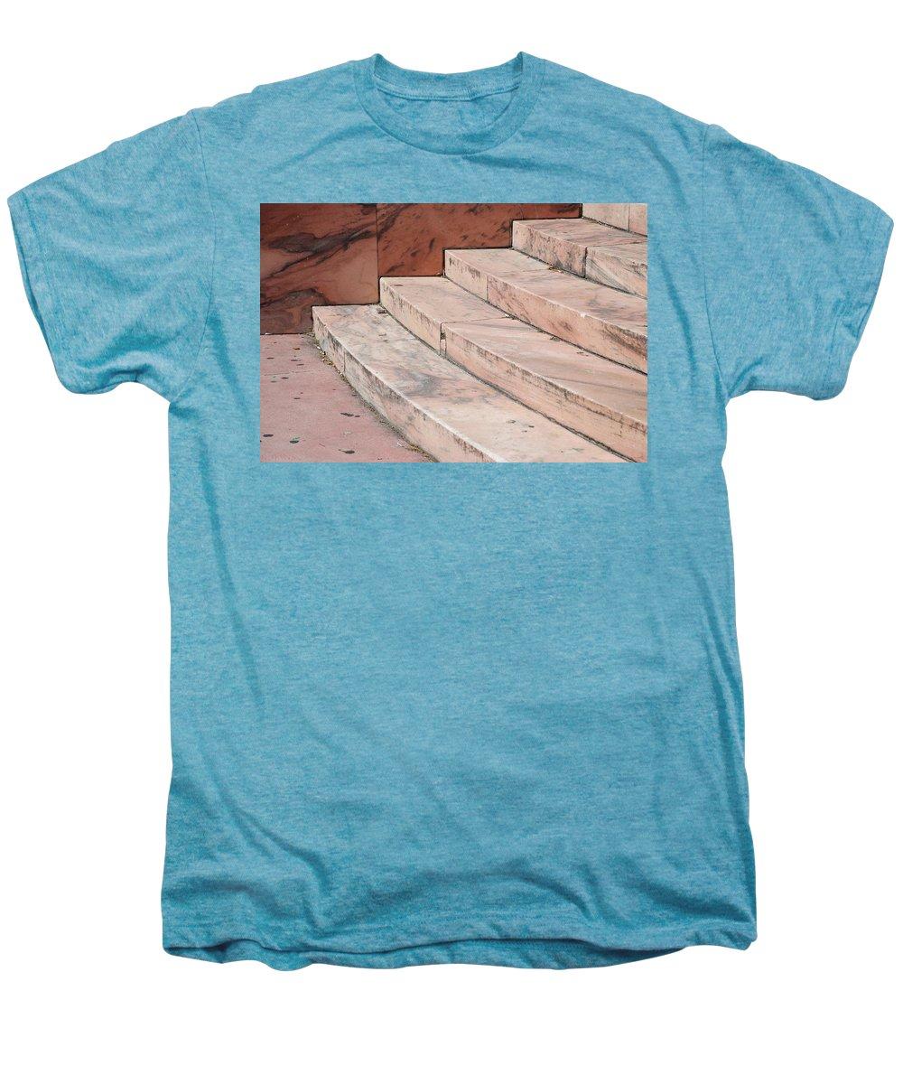 Architecture Men's Premium T-Shirt featuring the photograph Art Deco Steps by Rob Hans