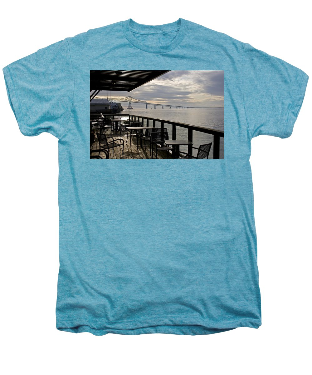 Scenic Men's Premium T-Shirt featuring the photograph Astoria by Lee Santa
